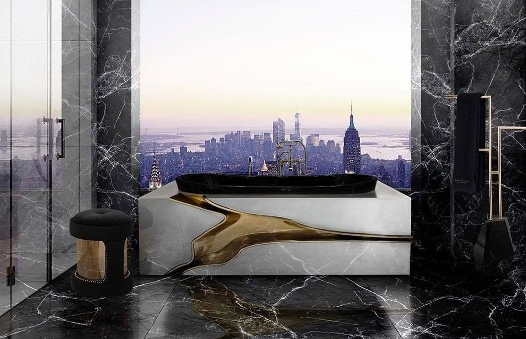 bathroom with a view Bathroom With a View: 7 Captivating Designs Maison Valentina 2