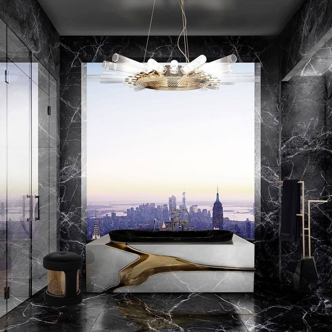 Bathroom With a View, bathroom, view, design, bathtub, maison valentina, bathroom  Bathroom With a View: 7 Captivating Designs Maison Valentina