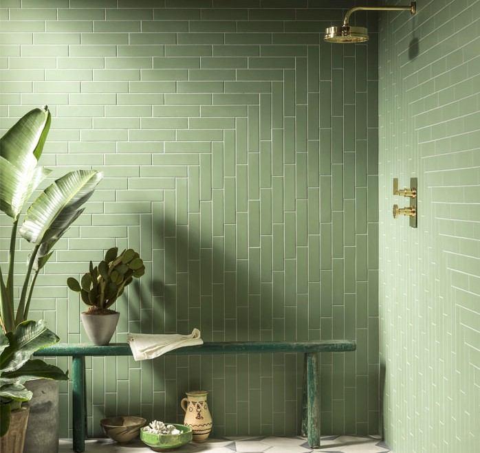 bathroom tile trends The Hottest Bathroom Tile Trends 2021 / 2022 hottest trends subway tile 2 2
