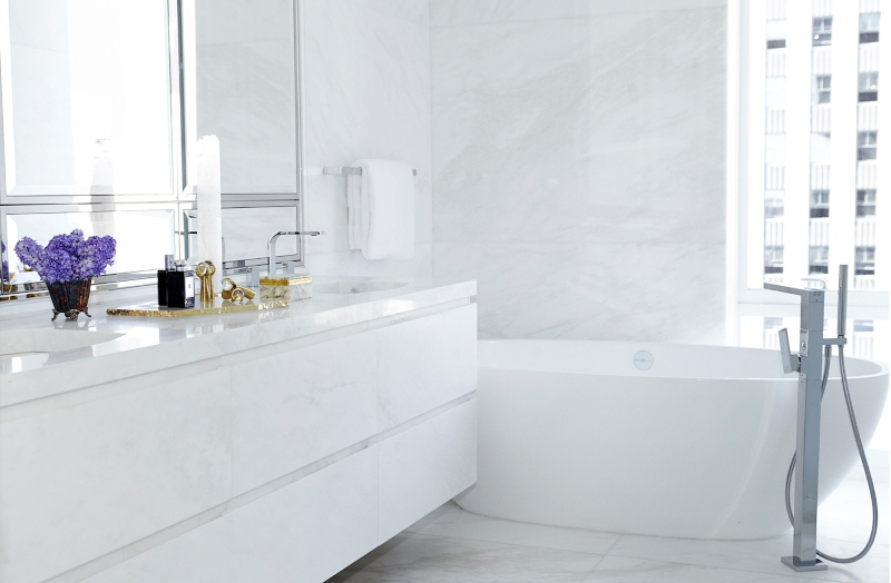 NYC Interior Designers, The Top 20 Bathroom Designs