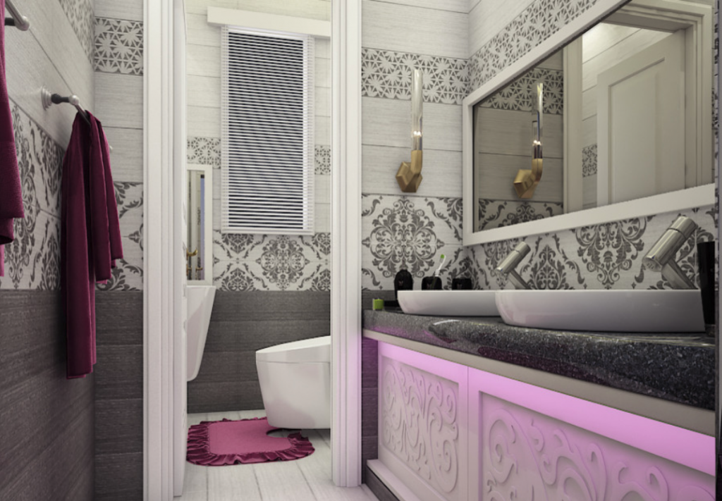 bathroom projects Top 20 Interior Designers in Riyadh – Bathroom Projects Top 20 Interior Designers in Riyadh 3 1024x711