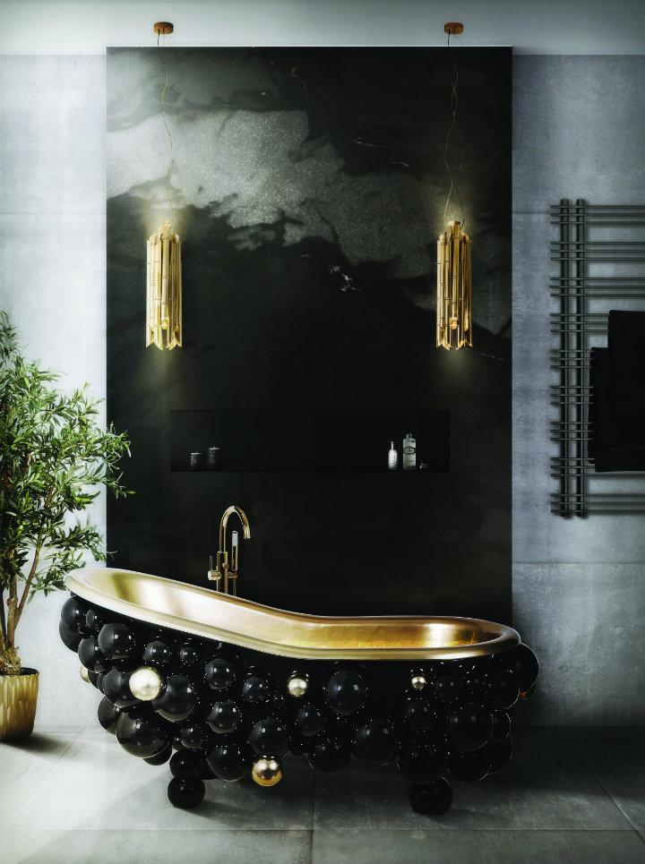 glamorous bathtubs 15 Most Glamorous Bathtubs to Have in 2021 14 newton bathtub saki pendant maison valentina 1 HR