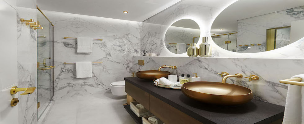 Unique Bathroom Projects unique bathroom projects 20 Unique Bathroom Projects by Our Top 20 Interior Designers in Dubai 20 Unique Bathroom Projects 1