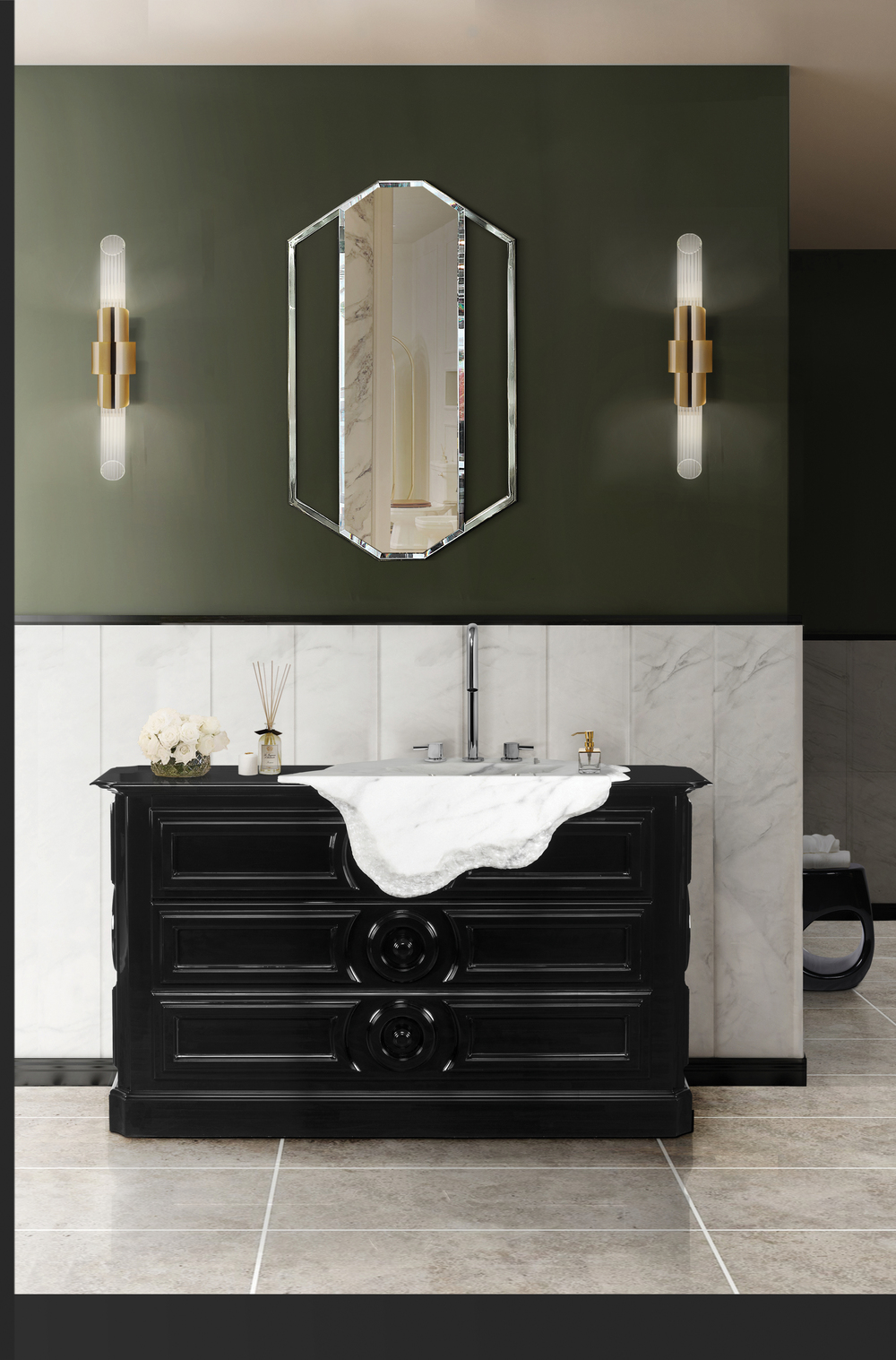 Elegant Washbasins - Petra elegant washbasins 15 Elegant Washbasins to Look Out for in 2021 MV9