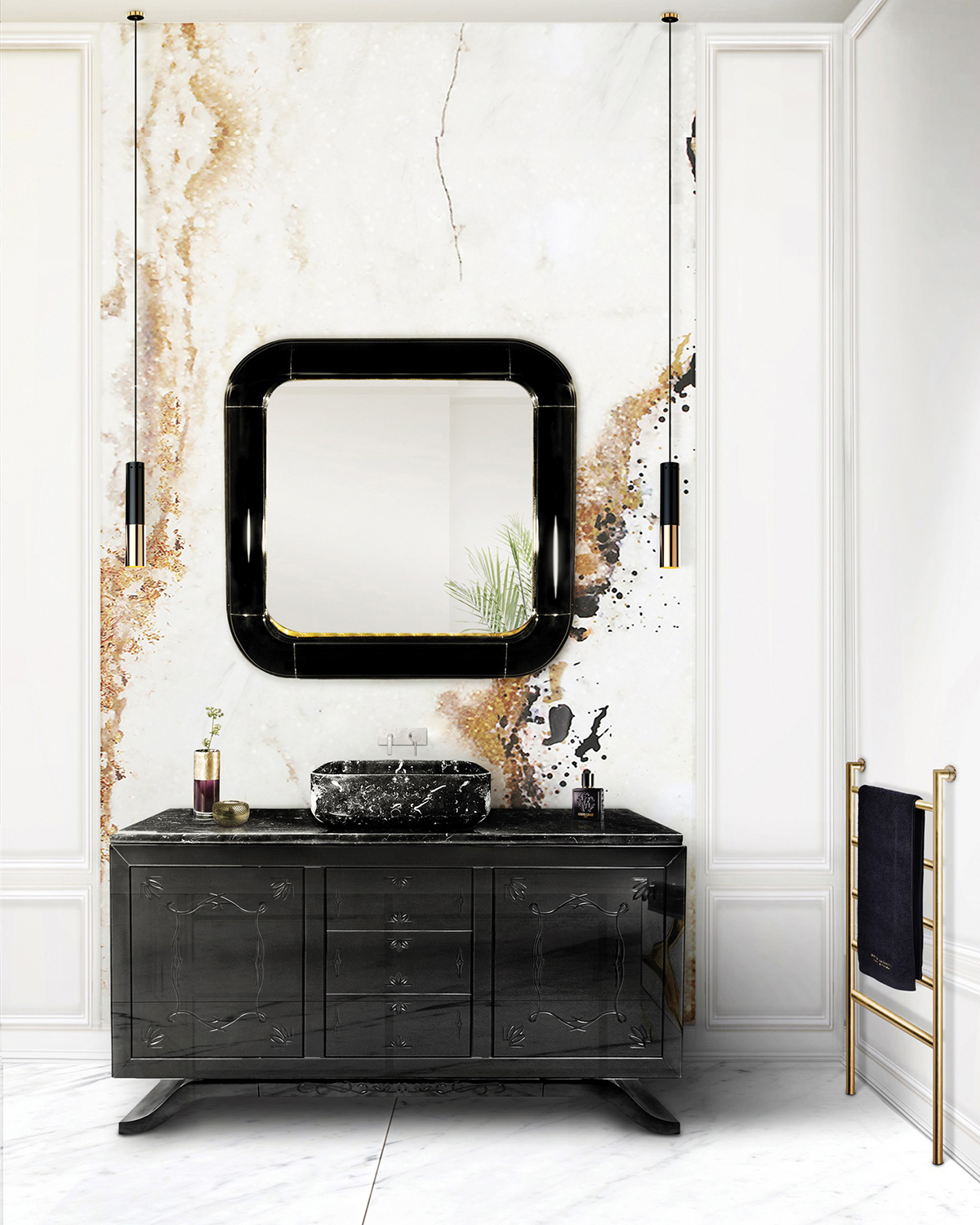 Elegant Washbasins - Metropolitan elegant washbasins 15 Elegant Washbasins to Look Out for in 2021 Metropolitan by Maison Valentina