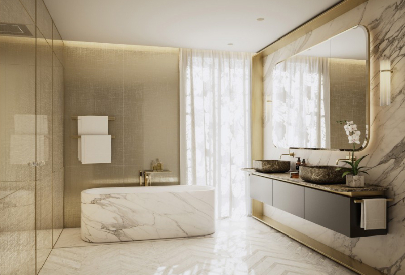 Fascinating Bathrooms from the best Interior Designers of Paris  fascinating bathrooms from the best interior designers of paris Fascinating Bathrooms from the best Interior Designers of Paris Paris Interior Designer PJ