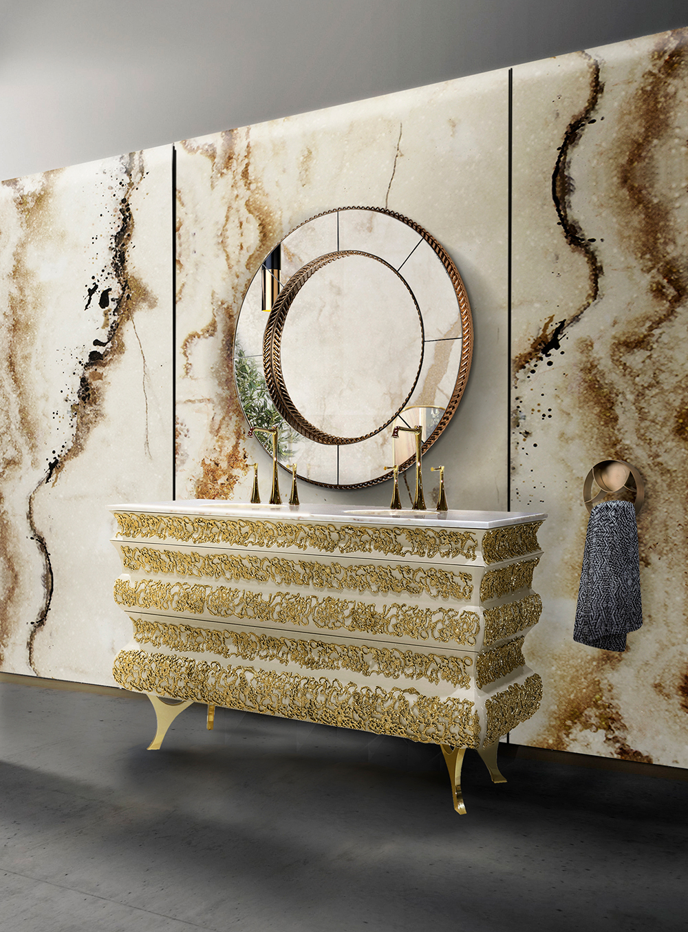 Elegant Washbasins - Crochet