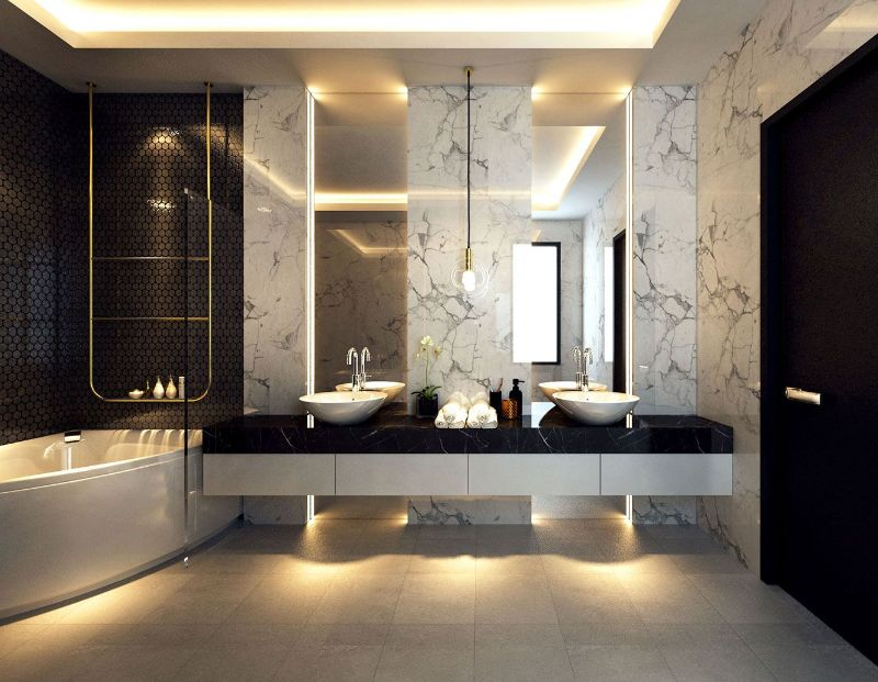 The Most Stylish Bathroom from Top 20 Kuala Lumpur Interior Designers kuala lumpur interior designers The Most Stylish Bathroom from Top 20 Kuala Lumpur Interior Designers The Most Stylish Bathroom from Top Kuala Lampur Interior Designers LATITUDE