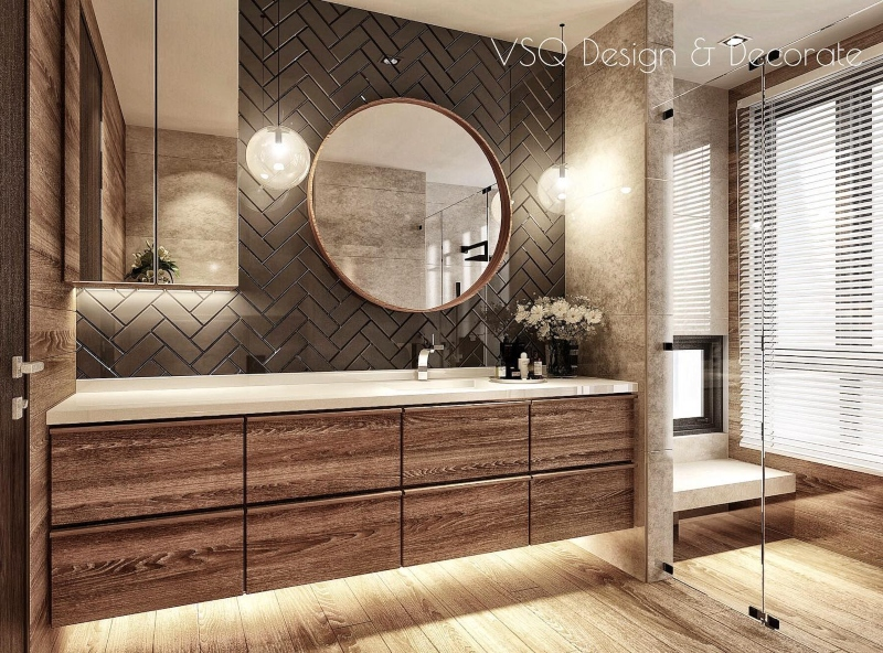 The Most Stylish Bathroom from Top 20 Kuala Lumpur Interior Designers kuala lumpur interior designers The Most Stylish Bathroom from Top 20 Kuala Lumpur Interior Designers The Most Stylish Bathroom from Top Kuala Lampur Interior Designers VSQ DESIGN 1 1