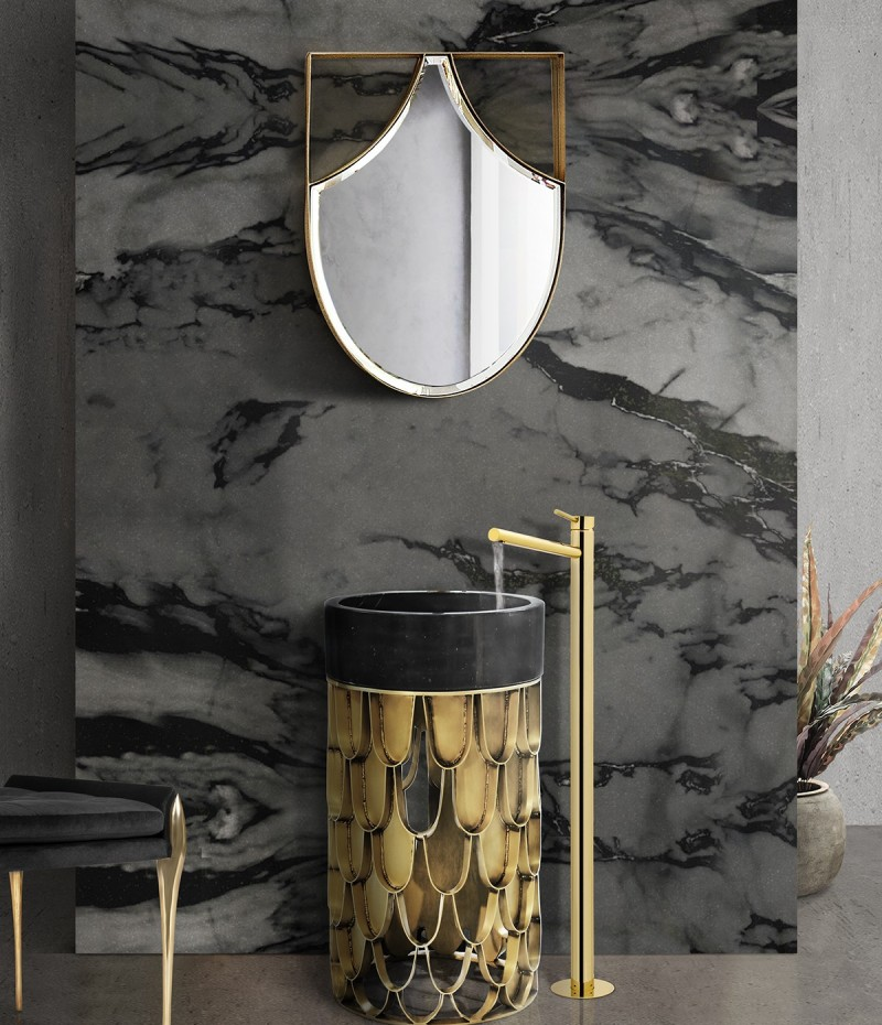 15 Freestandings That Bring Extra Glamour to Your Bathroom freestandings 15 Freestandings That Bring Extra Glamour to Your Bathroom glamorous freestandings