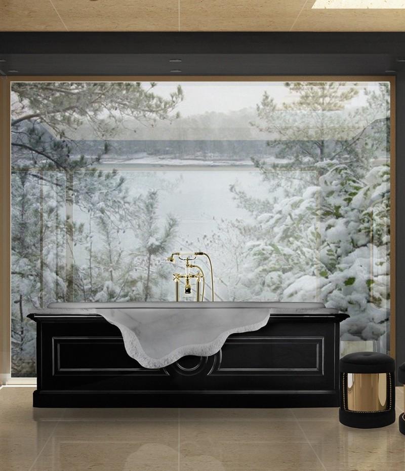 glamorous bathtubs 15 Most Glamorous Bathtubs to Have in 2021 luxurious bathroom with petra bathtub 1