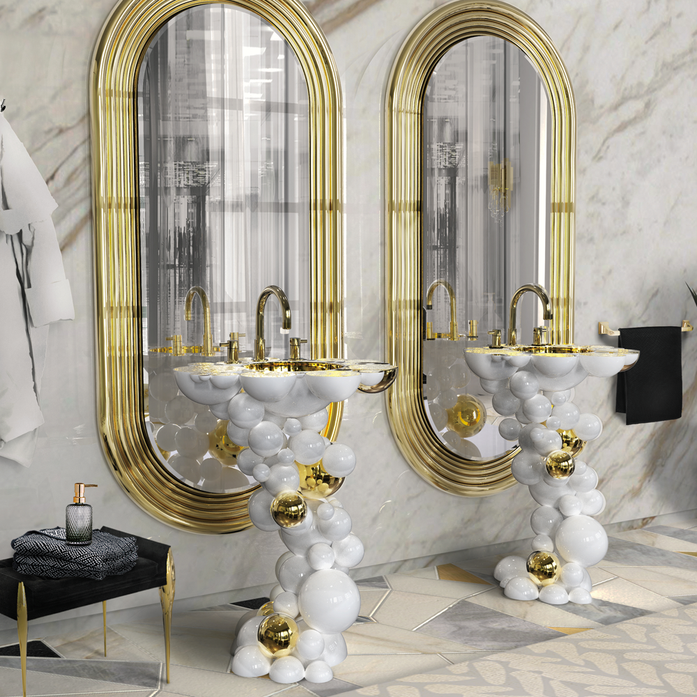 Elegant Washbasins -  Newton elegant washbasins 15 Elegant Washbasins to Look Out for in 2021 newton sink 04 2048x