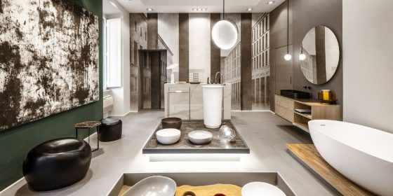 the best showrooms and design stores from rome Bathroom Inspirations by The Best Showrooms and Design Stores From Rome Bathroom Inspirations by The Best Showrooms and Design Stores From Rome Deangelisroma 1 560x280
