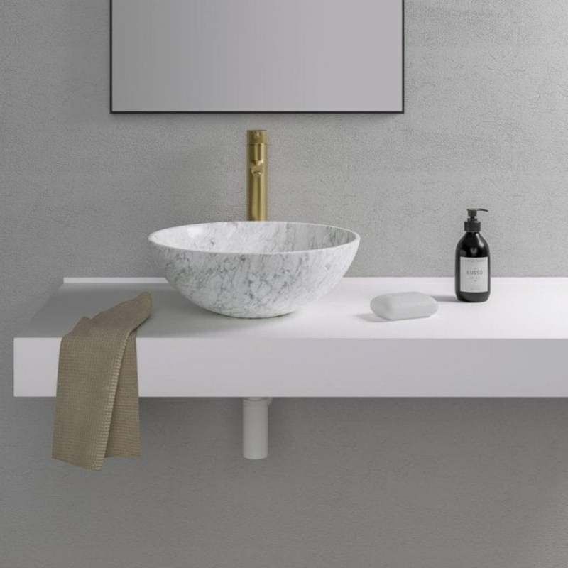 Vessel Sinks: Prime Examples of Dazzling Items for You vessel sinks Vessel Sinks: Prime Examples of Dazzling Items for You carrara marble basin