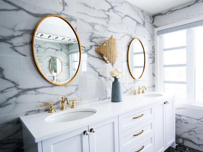Modern bathroom designs from Mecca Interior Designers
