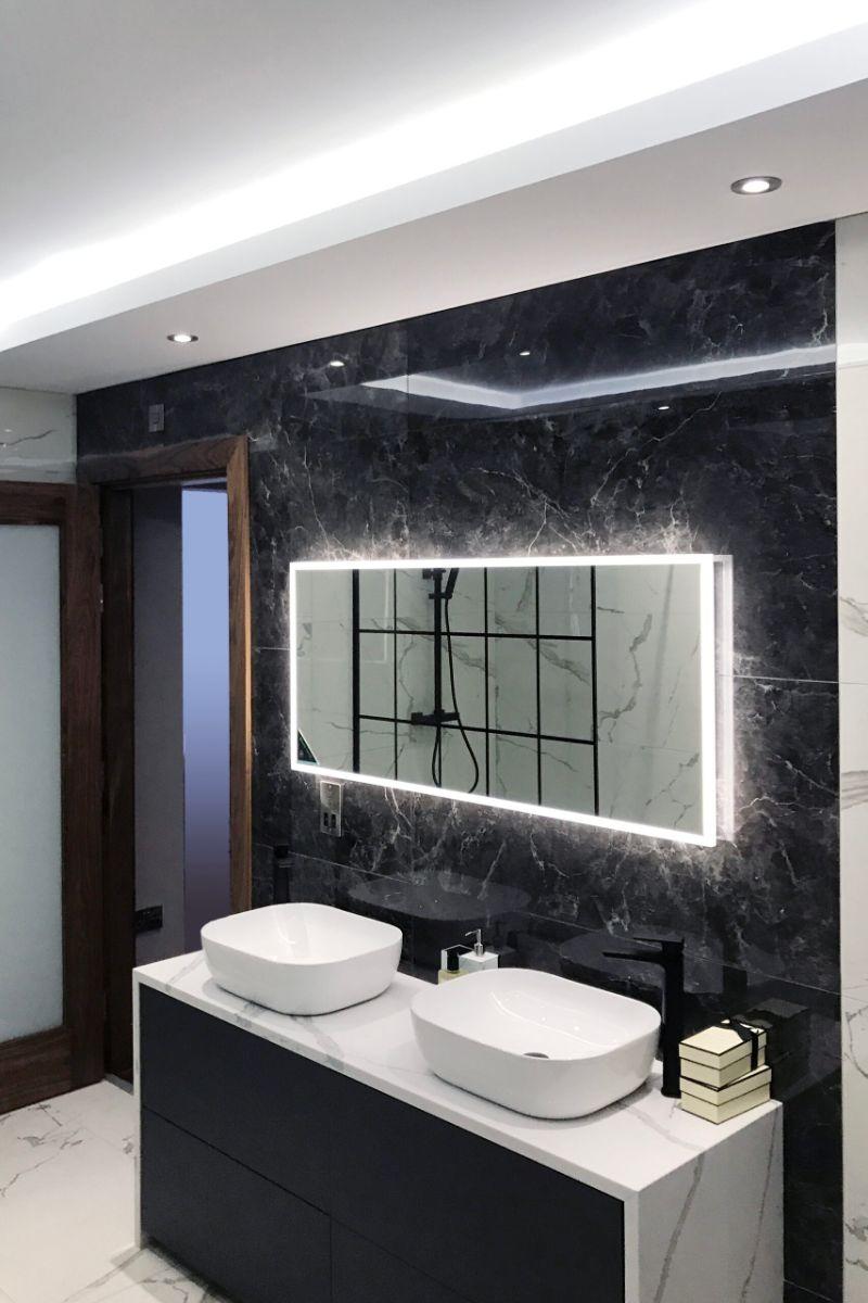 Bathroom Projects from Dublin  bathroom projects from dublin Bathroom Projects from Dublin Interior Designers: Irish Luxury John Duffy Design Group Belfast Penthouse