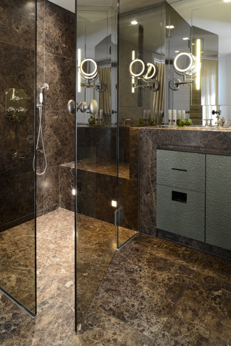 Contemporary bathrooms projects from Berlin Interior Designers contemporary bathrooms Contemporary bathrooms projects from Berlin Interior Designers davide 1