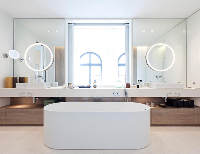 Contemporary bathrooms projects from Berlin Interior Designers contemporary bathrooms Contemporary bathrooms projects from Berlin Interior Designers studio hansen