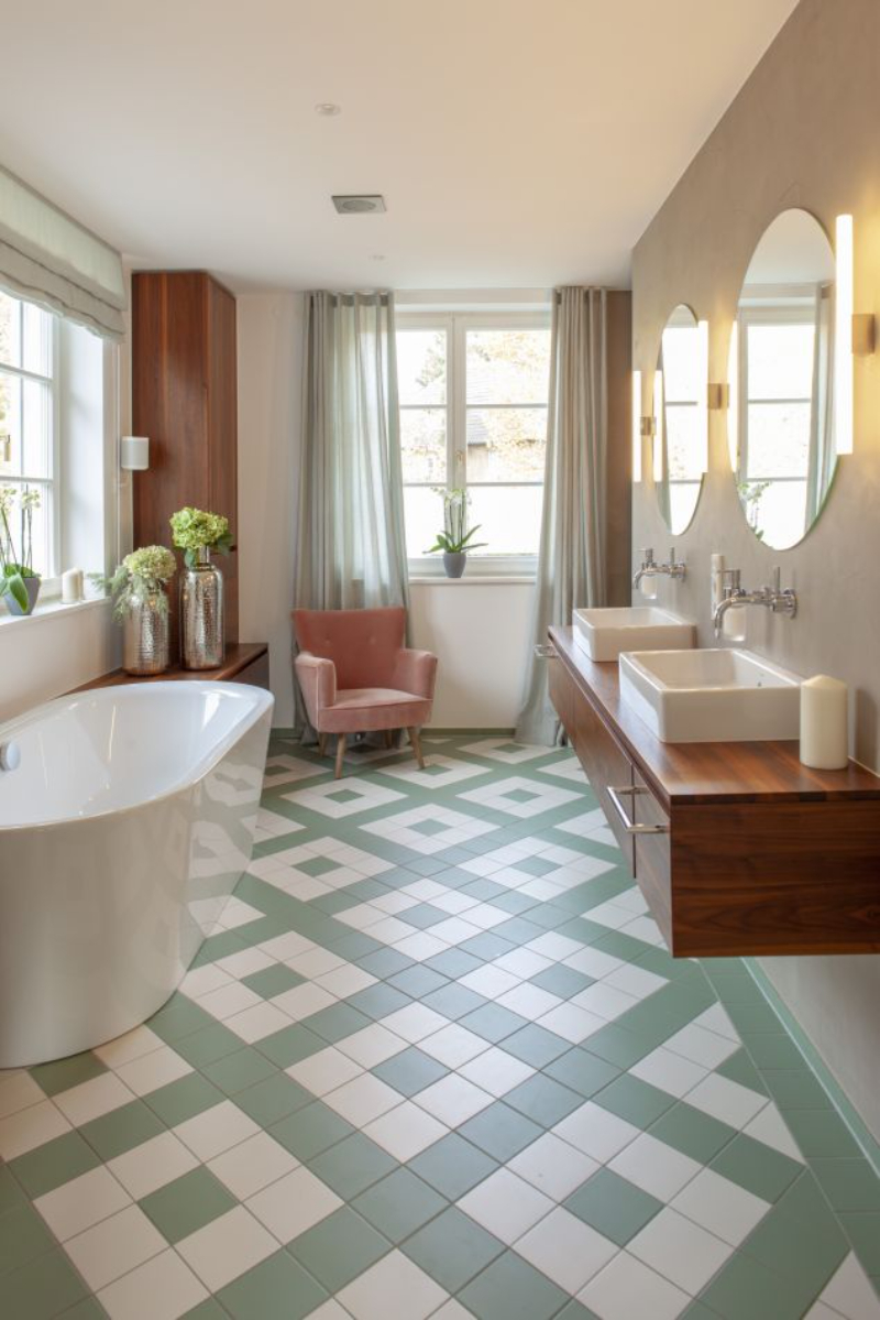 Contemporary bathrooms projects from Berlin Interior Designers contemporary bathrooms Contemporary bathrooms projects from Berlin Interior Designers susanne 1