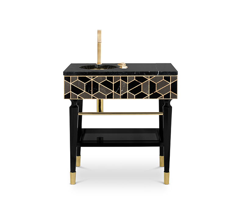 High-end Trends from Paris Interior Designers, Our Selection paris Paris: Fall In Love With These Incredible Designers From The City tortoise single washbasin