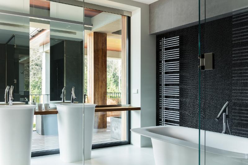 Contemporary interiors with distinctive bathroom designs by 4a Architekten 4a architekten Contemporary interiors with distinctive bathroom designs by 4a Architekten 2