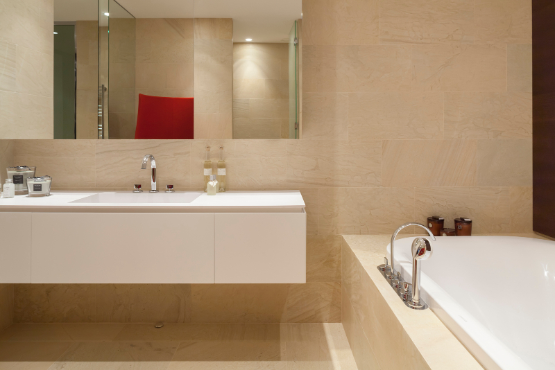 Contemporary interiors with distinctive bathroom designs by 4a Architekten 4a architekten Contemporary interiors with distinctive bathroom designs by 4a Architekten 5 2