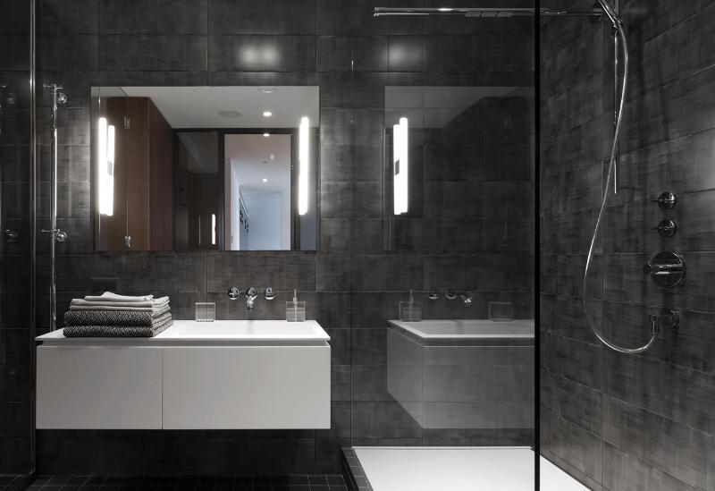 Contemporary interiors with distinctive bathroom designs by 4a Architekten 4a architekten Contemporary interiors with distinctive bathroom designs by 4a Architekten 6 1