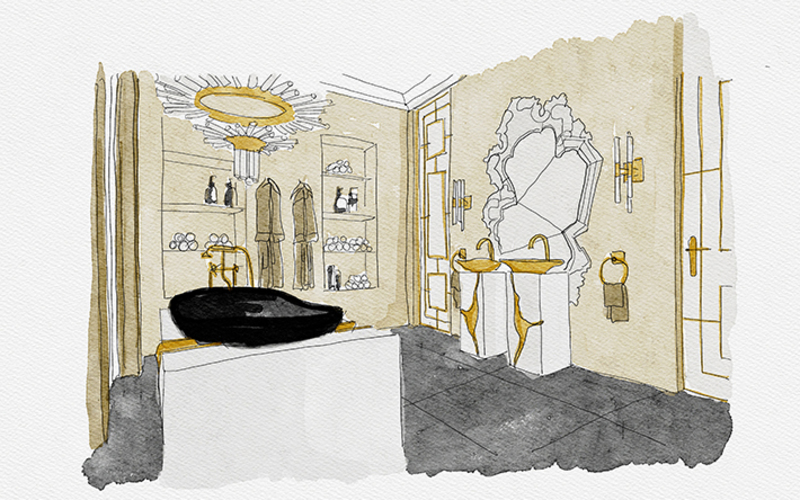 """The Apartment """"Éternel"""": The Most Iconic Bathrooms Paris Has To Offer"""