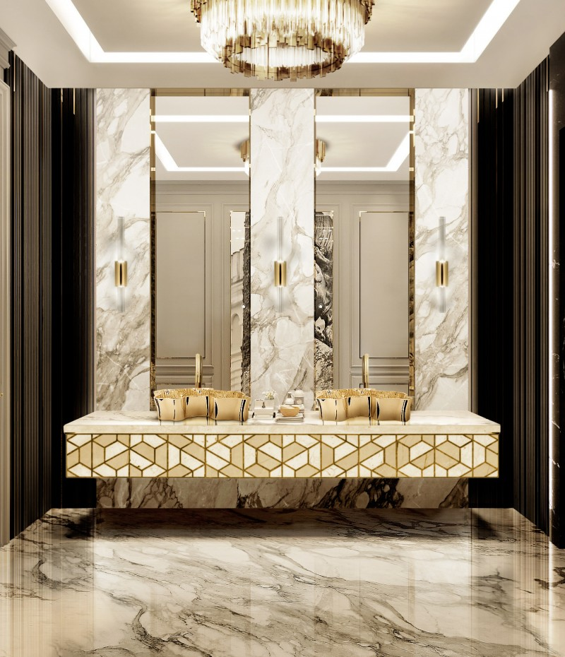 The Most Amazing Bathroom Ideas from Word Of Mouth word of mouth The Most Amazing Bathroom Ideas from Word Of Mouth splendid master bathroom with eden vessel sink