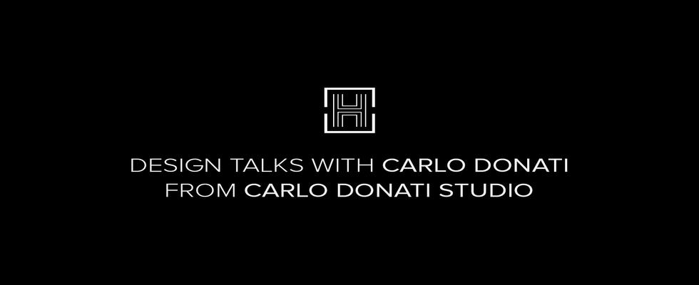 carlo donati Carlo Donati: Discover the Interior Designer's Best Secrets! capa nome horizontal 1