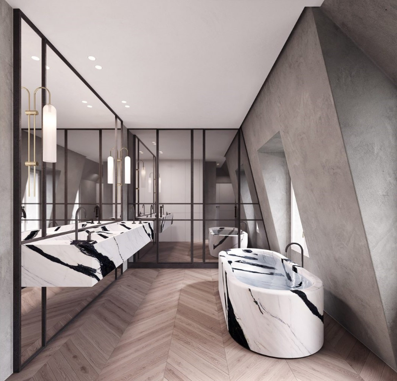Bathroom Designs Ideas From LUV Studio (1)