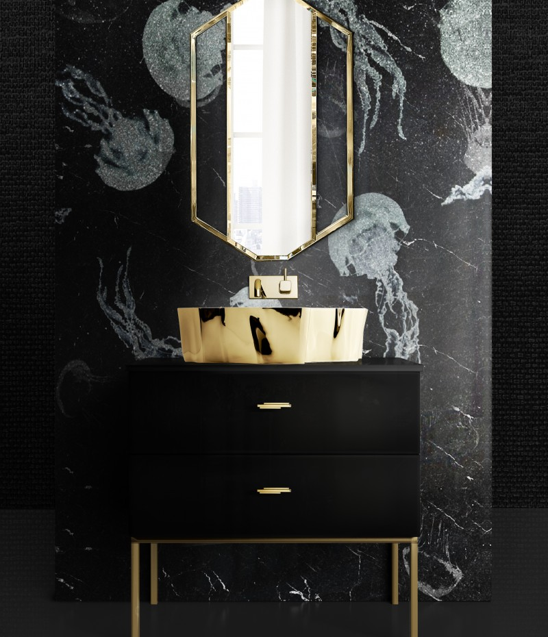 10 Contemporary Bathroom Interior Projects from Nate Fischer
