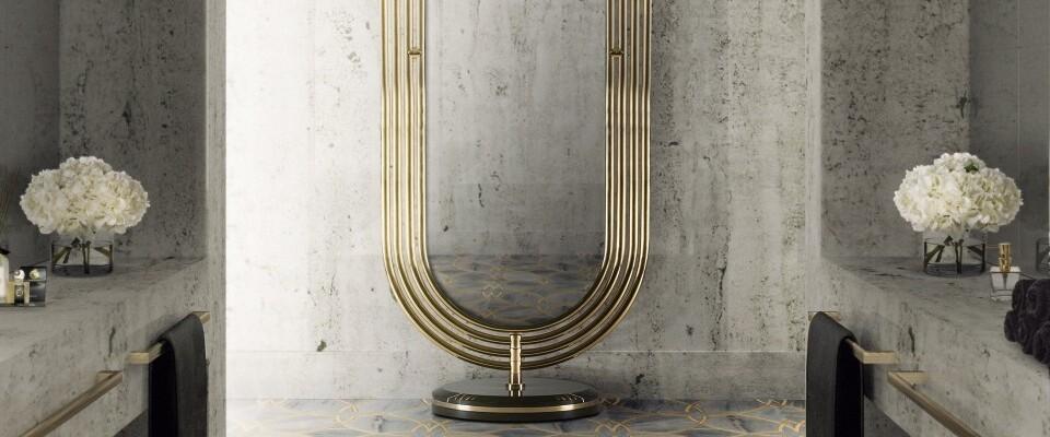bathroom design Bathroom Design Essentials: Elements To Own colosseum floor mirror
