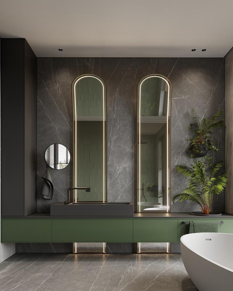 ArtPartner: Bathtoom Interior Design Genius