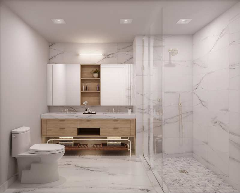 Luxury Bathroom Interior Design Projects by Meshberg Group