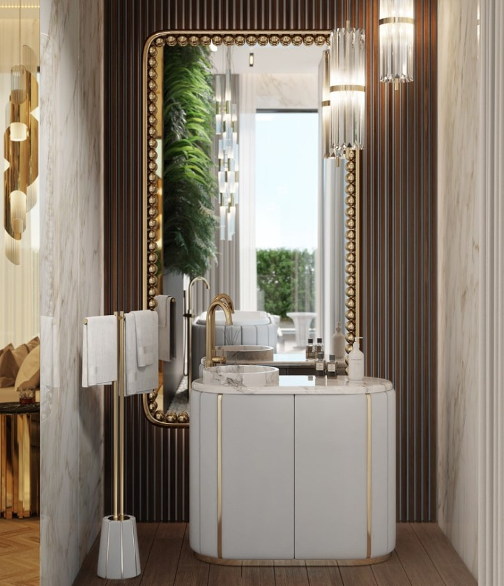 Green Bathroom Designs For Blissful Interiors Green Bathroom Designs Green Bathroom Designs For Blissful Interiors clean bathroom design with white darian collection 1
