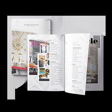 Maison Valentina Press Book