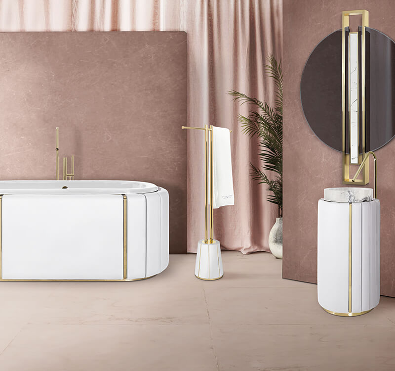 Luxury Modern Bathroom Furniture By Maison Valentina