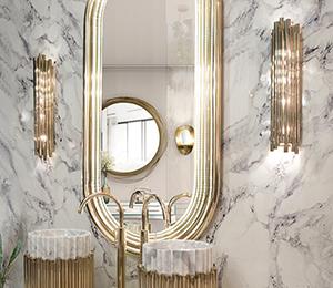 glamorous bathroom towel rack decorating ideas | Eden towel rack - Maison Valentina | Luxury Bathrooms