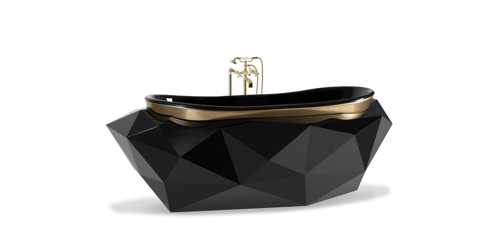 Diamond bathtub Maison Valentina   Luxury Bathrooms