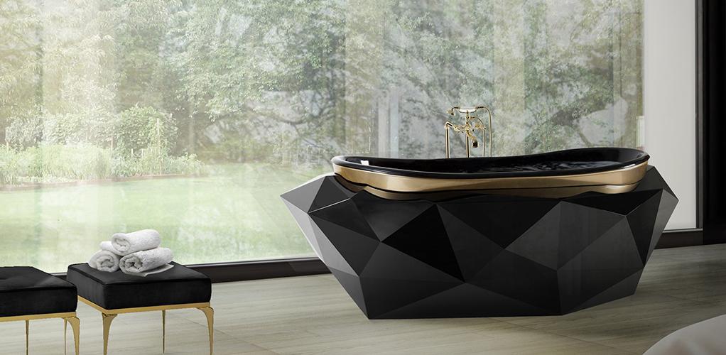 Diamond bathtub Maison Valentina | Luxury Bathrooms