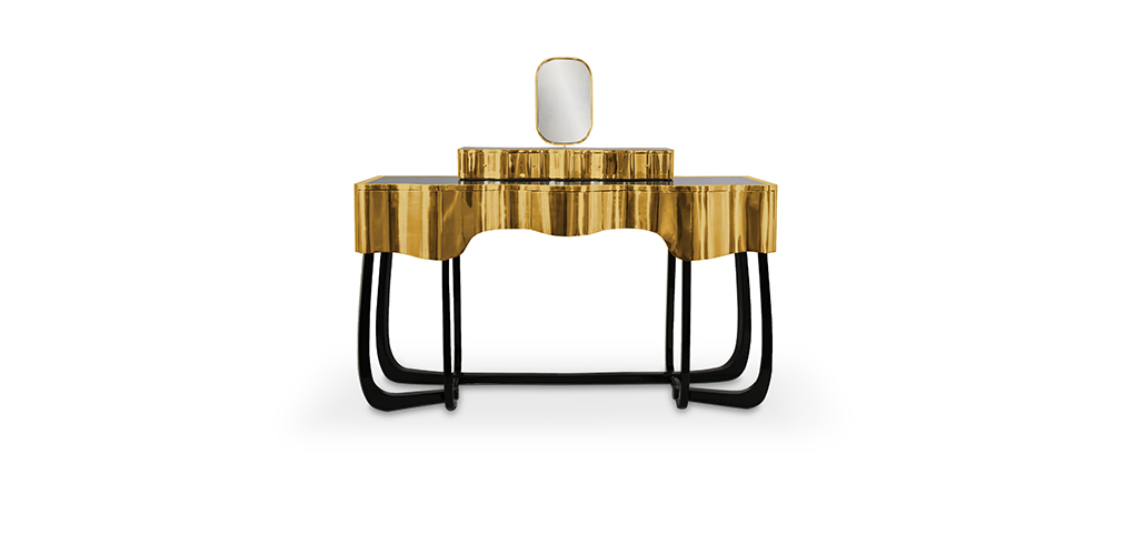 Interior Design Inspiration: Hochwertige Materialien für den Herbst sinuous dressing table 1