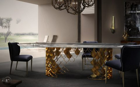 6 Elegant Dining Room Tables in Brass 6 Elegant Dining Room Tables in Brass1 480x300