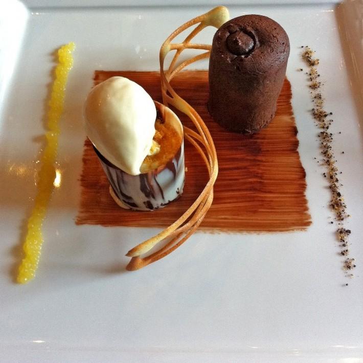 5 AMAZING MICHELIN-STARRED RESTAURANTS IN EDINBURGH  5 AMAZING MICHELIN-STARRED RESTAURANTS IN EDINBURGH Amazing Michelin starred restaurant the Kitching desert