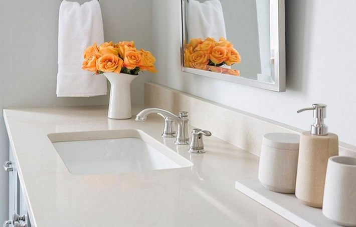 Bathroom countertops 101 the top surface materials for Top bathroom designs 2015