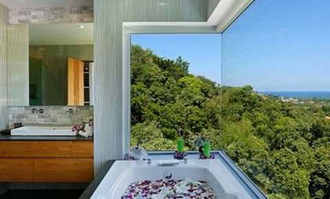 TOP 10 BEAUTIFUL BATHROOMS VIEWS  TOP 10 BEAUTIFUL BATHROOMS VIEWS Bathrooms with Views 47 1 Kindesign 480x290