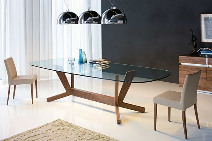 Amazing Ideas to decorate a dining room  Amazing Ideas to decorate a dining room Goblin Modern Dining Table Cattelan Italia