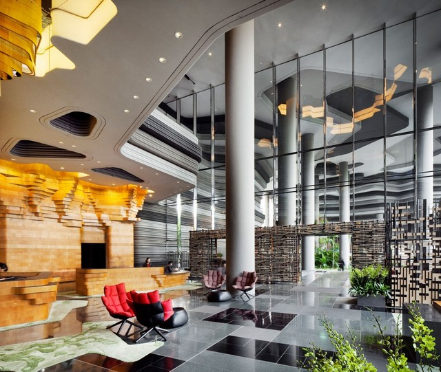 HOTELS AND RESTAURANTS: CONTEMPORARY DESIGN IDEAS