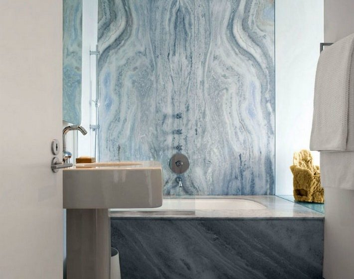 Modern Home Decor: The Marble Bathroom