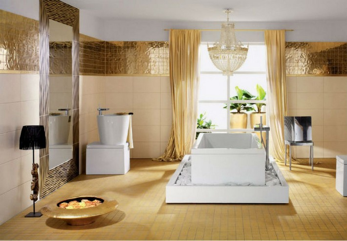 gold bathroom ideas trends 2015 golden bathrooms inspiration and ideas from 11890